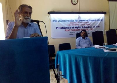 01Prof. Prabhat Patnaik delivers the lecture