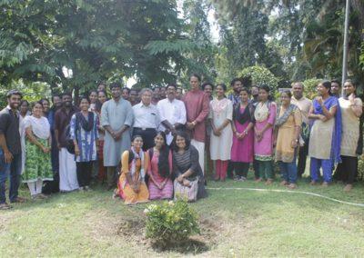 09 Department Faculties nad scholars with Prof. R Govinda