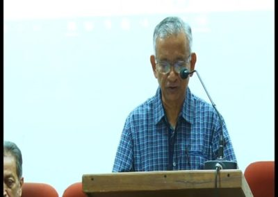 10-Prof.A V Jose as speaker in the technical Session 1