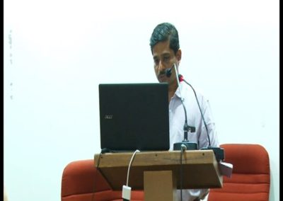 11-Dr. A P Sreeraj presenting paper in the Technical Session 1