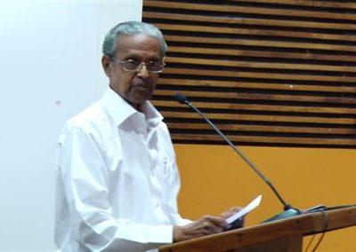 11 Prof. A.Sukumaran Nair as key speaker in the Technical Session II