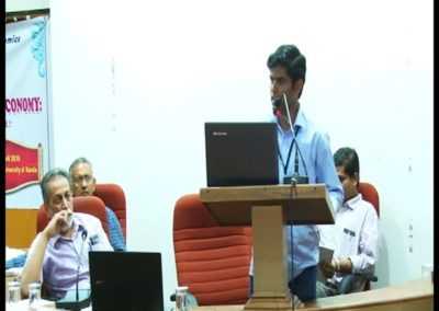 12-Subin Dennis presenting paper in the Technical Session 1