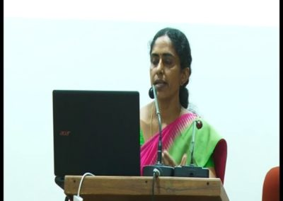 14-Dr.Anitha V presenting paper in the Technical Sesson II
