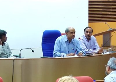 18. Prof. Saumen Chattopadhyay as Chair person in the Technical Session V