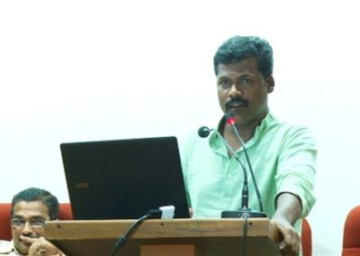 19-Dr.D Shyjan presenting paper in Technical Session III