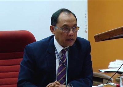 21. Prof. Dato' Morshidi as Chair person in the Technical Session VI