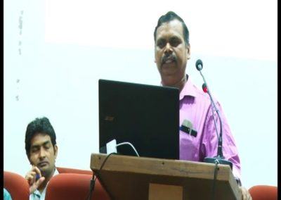 22-Dr.Nagarajan Naidu presenting paper in the Technical Session V
