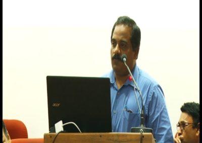 23-Dr.Vinoj Abraham presenting paper in the Technical Session V