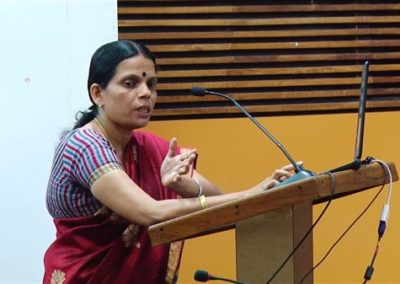 23. Dr.Manju S Nair presenting paper in the Technical Session VI