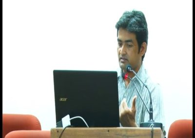 24-Dr.Santosh Verma presenting paper in the Technical Session V