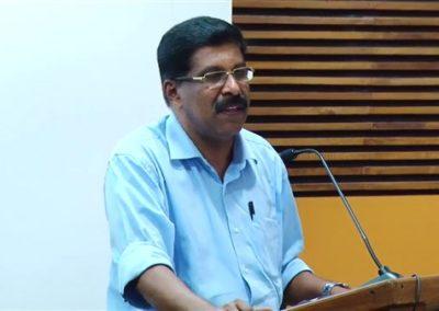 27. Prof. Rajan Varughese as Key speaker in the Technical Session VIII