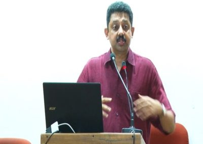28-Prof.R Ramakumar as panelist in the Panel Discussion