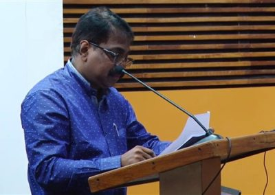 3-Dr.N Veeramanikandan as Chairperson in the Inaugural Session
