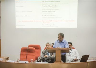 3.Dr. Veeramanikandan as Chairperson