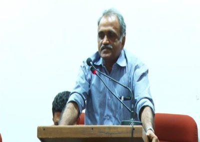 30-Prof.K N Harilal as Panelist in the Panel Discussion