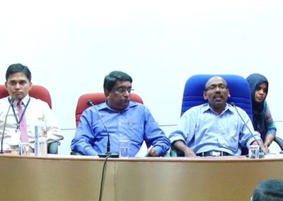 31.Dr. A K Prasad as chair person in the Researchers Session