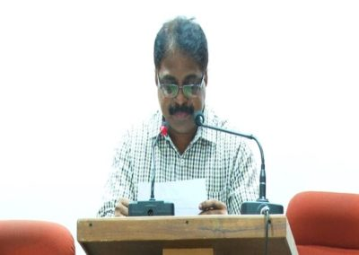 32-Dr .Veeramanikandan as Chairperson in the Valedictory Session