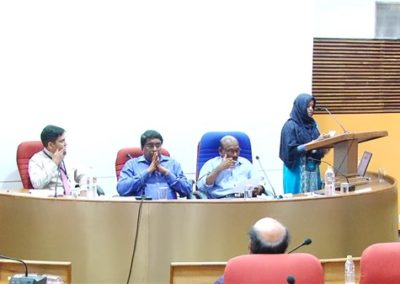 33.Sajida P presenting paper in the Researchers Session