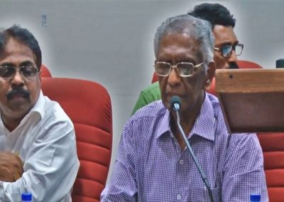4-Inaugural Address by Prof.M . A. Oommen