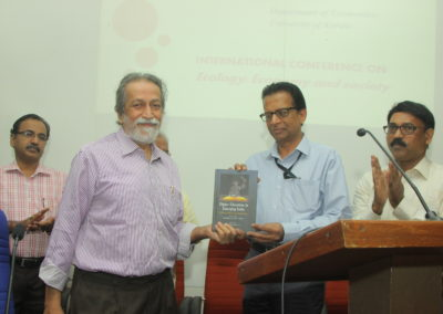 """Book release of """"Higher Education in Emerging India Problems, Policies and Perspectives"""" by Prof. Prabhat Patnaik"""