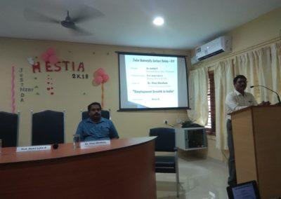 Welcome speech by Prof. Abdul Salim A