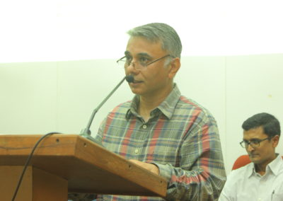 Prof. Pranab Mukhopadhyay as speaker in the Technical Session II