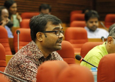 Dr. Nandan Nawn as speaker in tEchnical Seeion VIII