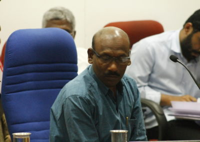 Dr. Prasad AK as Chairperson in the Technical Session VI