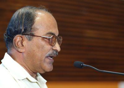 Dr. Vijayamohanan Pillai as speaker in the Technical Session II (1)
