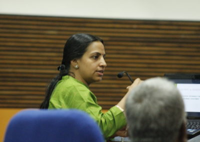 Dr.Manjula M as speaker in the Technical Session IX
