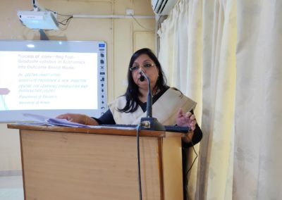 Special Address by Dr. Geetha janet Vitus