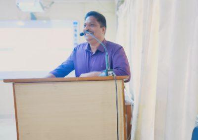 Felicitation by Dr. Hari Kurup .K .K