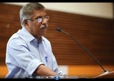 Dr. Rajan Varughese presenting paper in the Technical Session VII