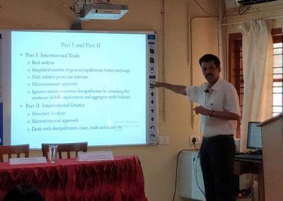 Prof. C  Veeramani as subject expert of International Economics