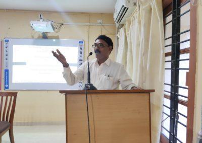 Welcome & Theme Presentation by  Prof. Abdul Salim A