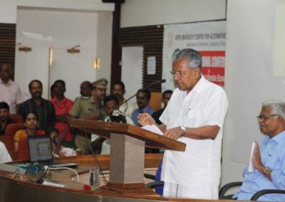 Inaugural Address by Cheif Mininster of Kerala Sri. Pinarayi Vijayan