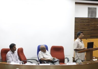 Dr. Kalyan Das as Chairperson in the Technical session V