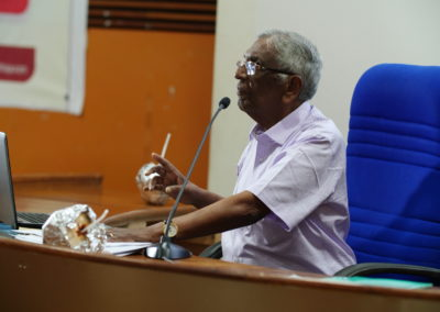 Special Address by Prof. M A Oommen