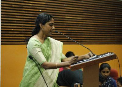 Theme presentation by Dr. Anitha V