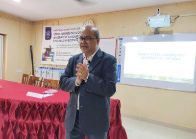 Prof. C P Gupta as Subject Expert of Quantitative Methods   & Mathematical Economics