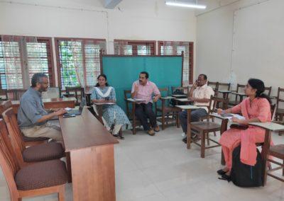 Discussion on Indian Economic Development & Policies/ Kerala's Economic Development under the supervision of Prof. M Suresh Babu